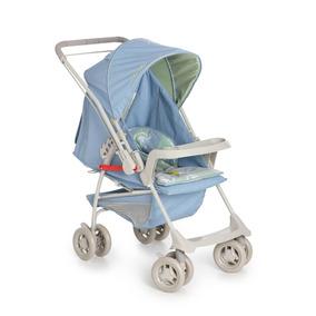 Carrinho Bebê Milano Reversivel Ii Galzerano Azul Real
