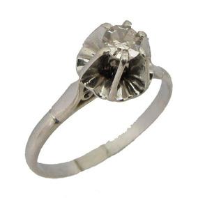 ddc821bea57ff 2703 Anel Solitário Com Diamante De 20 Pontos Lapidação