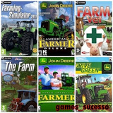 Patch Farming Simulator + John Deere + The Farm + Farm Vet