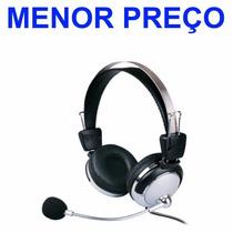 Fone De Ouvido Com Microfone Weile 301mv Mv Pc Lan House