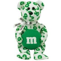 Green M & M Vacaciones Con Licencia Idad Beanie Baby * Rega