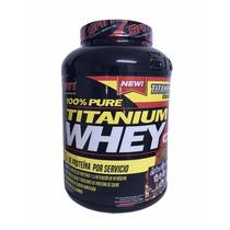 Proteina San 100% Titanium Whey 5 Lb(75srvs) Sabor Chocolate