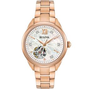 Reloj Bulova Diamond Automatic 97p121 Tienda Oficial Bulova