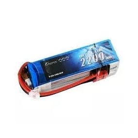 Bateria Gens Lipo 11.1v 2200mah 25c 50c 3s T-rex 450 Jr Hk