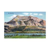 El Paso, Texas, Panoramic View Of Mount Cristo Rey Print,