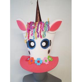 Sombrero De Unicornio En Hule Espuma