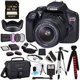 Canon Eos Rebel T6 Cámara Dslr Con Lentes 18-55mm + Sony...