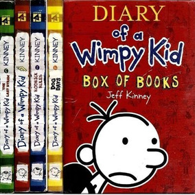 Diary Of A Wimpy Kid Box Of Books (04 Volumes) Jeff Kinney