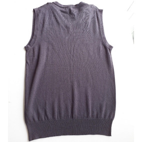 Colete De Lã Masculino Azul - Cast Essential