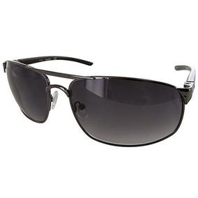 690e616430 Timberland Tb N Hombre Negro Gafas De Sol Rectángulo De Met