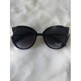 Oculos Miu Miu Estilo Gatinho - Óculos no Mercado Livre Brasil 2037e6b53e