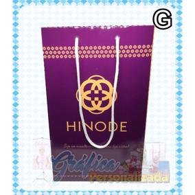 Sacolinha Hinode Personalizada Com Dados Do Vendedor