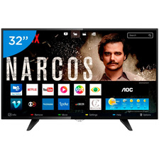 Smart Tv Led 32 Aoc Le32s5970s 2 Hdmi 2 Usb Wifi