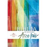 Rvr 1960 Biblia De Estudio Arco Iris, Tapa Dura Entre Inmedi
