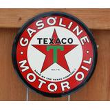 12 Texaco Redondo Del Aceite De Motor De Texa + Envio Gratis
