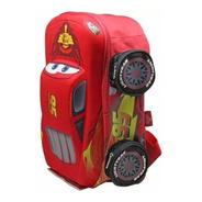 Mochila Infantil Premium Escolar Cars Rayo Mcqueen Disney