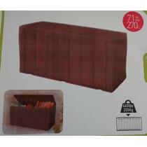 Bau Plástico Keter Textura Semi Madeira