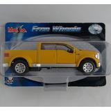 Carro Miniatura Metal Pickup Ford Cabine Dupla F350