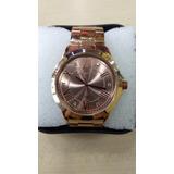 199ac055145d3 Relógio Original Atlantis Dourado Rose Feminino Frete Gratis