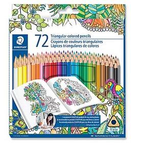 Colores Dibujo Lápices Staedtler Tipo Prismacolor Arte 72pz
