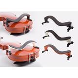 Ombreira Espaleira Para Violino 4/4 E 3/4 Pressão Vermelha