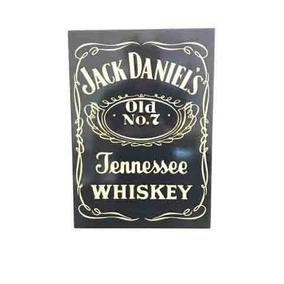 Quadro De Madeira Jack Daniel
