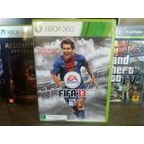 Jogo Fifa 13 Original Xbox 360 Mídia Física