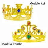 Fantasia Cosplay Coroa Rei Rainha 26 Peças Principe Princesa
