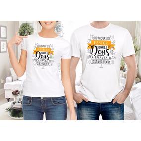 Camisa Personalizada Gospel Pastor-pastora-evangélica Deus