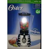 Licuadora Oster 3 Velocidades Cromada Vaso Plastico