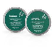 24 Desodorante Immi Lavanda Libre Aluminio Triclosan Vegano