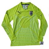 Camiseta Uruguay Selección Arquero Buzo Puma Nuevo Muslera