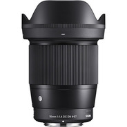 Lente Sigma 16mm F/1.4 Dc Dn Sony E Aps-c A Vista C/recibo
