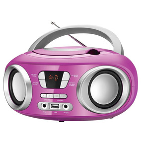 Rádio,usb, Auxiliar, Cd Player, Rádio Fm, 6w Rms - Mondial