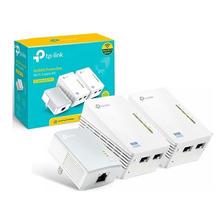 Extensor Wifi Tp-link Powerline Tl-wpa4220t 300mbps 2 Zonas