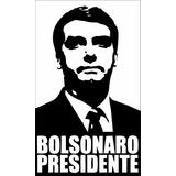 Frete Gratis Kit 10 Adesivos Bolsonaro (recorte Em Vinil)