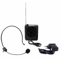 Microfone Caixa Som P Professor Aulas Palestra Amplificado