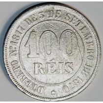Moeda Antiga 100 Reis 1871, Tostão, Império, Mbc++