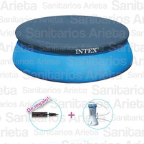 Pileta Intex 305 X 76 + Bomba + Cobertor + Inflador Cs5366