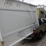 Portão De Garagem Em Alumínio 220x250
