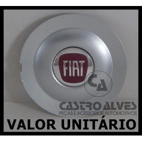 Calota Tampa Centro Roda Liga Leve Fiat Bravo Absolute Prata