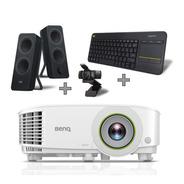 Bundle Proyector Smart Benq Eh600 + Teclado, Bocina Y Cámara