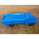 Antiguo Juguete Camion Plastico Inflado Baltasar