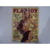 Playboy - Capa: Sheila Mello - Edição Janeiro 2002