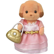 Sylvanian Families Perro Caniche Toy Con Accesorios 6004