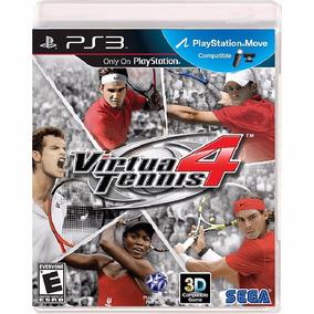 Virtua Tennis 4 - Mídia Física / Ps3