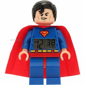 Reloj Lego Despertador Súper Héroes Superman Azul 9005701