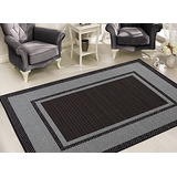 Sweet Home Stores Alfombra Clifton Collection Bordered Desig