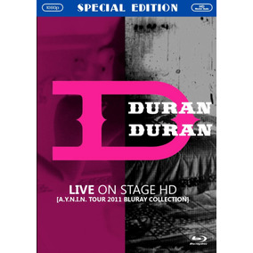 Duran Duran Live In Stage Bluray