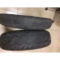 Jogo De Pneus Pirelli Route Mt66 100-90-19/170-80-15 Usado